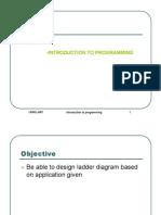 (1)Intro to Programming