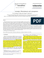 Huang, Y.-a., Chung, H.-j., & Lin, C. (2009). R&D Sourcing Strategies Determinants and Consequences. Technovation, 29(3), 155–169