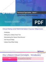 Cloud Setup and Administration