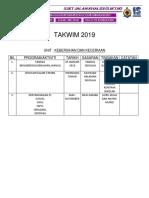 TAKWIMHEM 2019