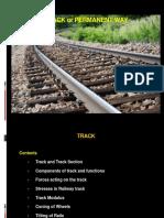 Railway Engineering-3c- Permanent Way- Track & Track Stresses