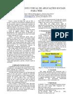 Desenvolvimento visual de aplicações sociais para web SICT 2009