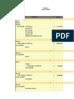 Ejemplo de un ejercicio contable
