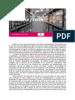 ArchiverCreer Presentation