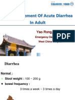 12. Acute Diarrhea