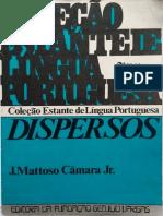 CAMARAjr Dispersos[LinguasEuropeiasDeUltramar] Compactado