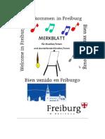 Merkblatt Strassenmusik Und Strassenkunst