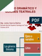 GÉNERO DRAMATICO
