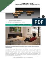 De .Afire Original, Premium & Xxl Wasserdampf Kamin - Technische Daten