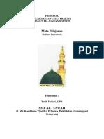 Proposa Ujian Praktik Bahasa Indonesia Kelas 12 2018-2019