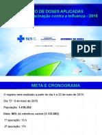 Apresentacao Registro Campanha Influenza 2015