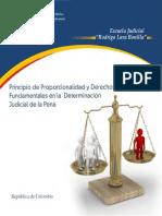 Principio de proporcionalidad en la determinación de la pena