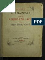 As Provincias Do Pará e Da Amazonia PDF
