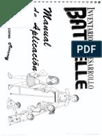 Battelle. Manual de Aplicación