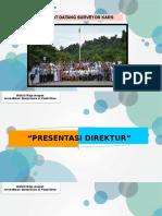 Presentasi Direktur RS Raja Ampat ( Mutu, PPI Dan Keselamatan Pasien) Utk Surveyor
