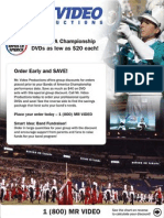 Video Group Sales Flyer 2010 2