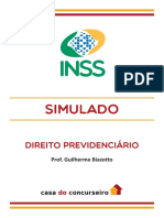Simulado Inss Guilherme Biazotto