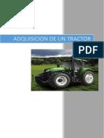 Adquisicion de Un Tractor