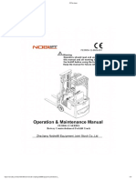 User Manual - Zhejiang Noblelift Equipment Joint Stock Co.,Ltd - Manualzz