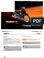 Manual de Usuario Corven110cc