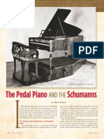 The Pedal Piano and the Schumanns