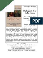 [Daniel Goleman, Friedrich Griese] Dialog Mit Dem (BookSee.org)