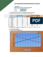 1.0-Parametro Morfometricos de La Cuenca en Estudio