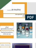 Uso de insulina.pptx