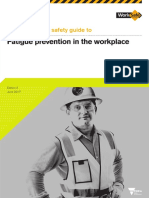 Fatigue Prevention in the Workplace Guide