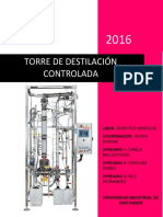Lab Torre de Destilacion Controlada - Grupo 3