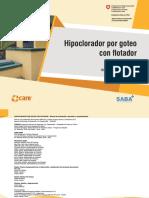 MANUAL Hipoclorador Por Goteo Con Flotador-digital