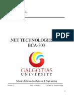 ASP.net and VB.net Lab_manual