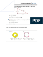 Calcula Área y Perímetro