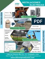 Brochure Electro Productos 2019