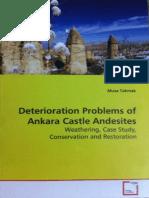 VDM Deterioration Problems of Ankara Castle Andesites (VDM Verlag Dr.müller Aktiengesellschaft Co.kg