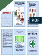 Difteri Leaflet