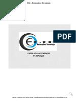 Carta de Apresentação de Serviços ELID