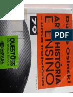 Arte,História e Ensino _ Uma Trajetória _ Dulce Osinski (Parte1)