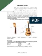 Escalas Mayores y Menores para Guitarra