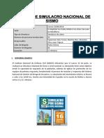 Inform Simulacro El Rosario-1