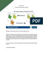 Observaciones Efectos Del Cambio Climático