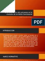 EL EXTRANEUS EN DELITOS FUNCIONARIALES.pptx