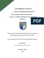 plan de tesis de modelo hidrologico Rs minerve