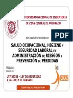 4.- Ley de Seguridad y Salud en El Trabajo