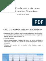 Resolución de Casos de Tarea Para Dirección Financiera