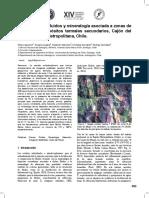 Geoquimica de Fluidos y Mineralogia