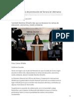 11-02-2019 - Destacan logros de promoción de Sonora en Alemania - Elsoldehermosillo.com.mx