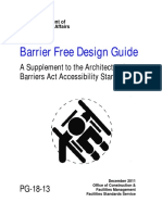 Barrier Free Design Guide