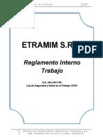 01-Reglamento Interno de Trabajo Etramim s.r.l.