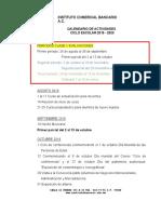 Calendarioactividades Ago19-Ene20 Icb